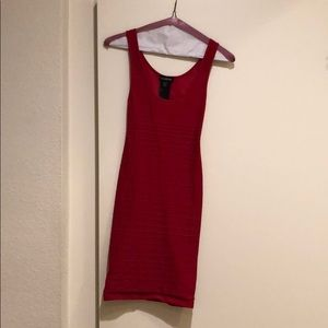 Bebe Bodycon Dress Red